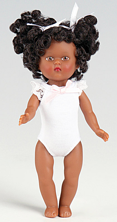 Vogue African-American  Dress Me Mini Ginny Doll 2010 (Image1)