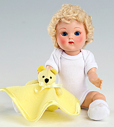 Vogue Blonde Curls Crib Crowd Vintage Repro Ginny Doll