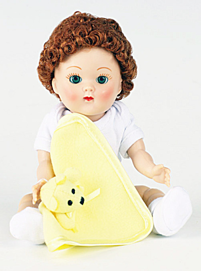 Vogue Redhead Curls Crib Crowd Vintage Repro Ginny Doll (Image1)