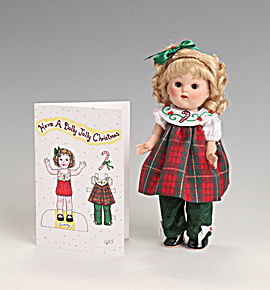 Vogue Dolly Jolly Christmas Vintage Repro Ginny Doll 2010 (Image1)