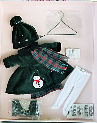 Vogue Winter Coat Modern Ginny Doll Clothing Pack 2010
