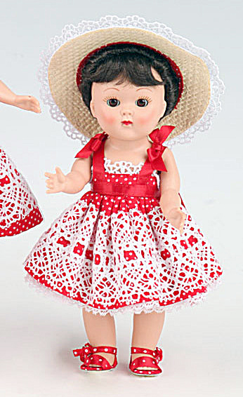 Vogue Garden Party Sister Vintage Repro Ginny Doll 2011 (Image1)