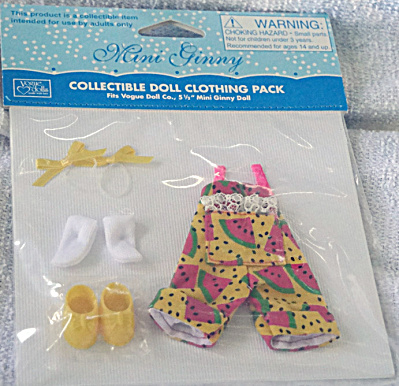 Vogue Mini Ginny Doll Melon Sunsuit Outfit Only 2013 (Image1)
