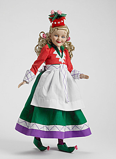 Tonner Wizard of Oz Flower Pot Spectator Munchin Doll 2009 (Image1)
