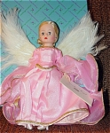 Click here to enlarge image and see more about item ALX0696: Madame Alexander 1995 Guardian Angel in Pink Cissette Doll