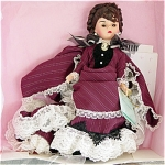 Click here to enlarge image and see more about item ALX0946A: Madame Alexander Anna Karenina Doll 1998 Cissette