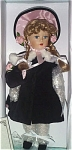 Click here to enlarge image and see more about item ALX1090B: Madame Alexander McGuffey Anna Bisque Doll 1999