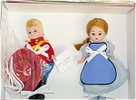 Click here to enlarge image and see more about item ALX1098: Madame Alexander Dudley Do-Right and Nell Doll Set 1999