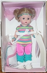 Click here to enlarge image and see more about item ALX1101I: Madame Alexander 1980-Working Out with Wendy Doll,  1999