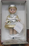 Click here to enlarge image and see more about item ALX1101K: Madame Alexander 2000 Blast Off Century Maggie Doll 1999