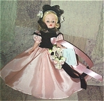 Click here to enlarge image and see more about item ALX2002: Madame Alexander 1953 Glamour Girl Cissette Doll 2000