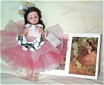 Click here to enlarge image and see more about item ALX2057b: Madame Alexander Degas Ballerina Cissette Doll  2000
