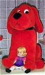 Madame Alexander Emilie Elizabeth Doll and Clifford Dog 2000