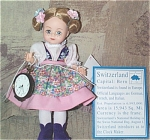 Click here to enlarge image and see more about item ALX2076: Madame Alexander Switzerland Maggie Doll 2000