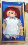 Click to view larger image of 1997 Applause Stamp Raggedy Ann Doll, Georgene Repro (Image3)