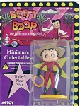 Click here to enlarge image and see more about item BBM0014: Betty Boop Today's New Star Cowgirl PVC Figurine 1986