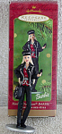 Click here to enlarge image and see more about item BHO9620: Hallmark Harley-Davidson Barbie Ornment 2000