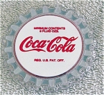 Enesco Coca Cola Vintage Bottle Cap Magnet 1993