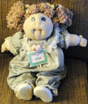 Click here to enlarge image and see more about item CPBR0001: Jillian Babyland General Hospital Cabbage Patch Doll 2001