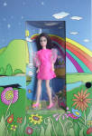 Click here to enlarge image and see more about item DAC0003: Dawn's Friend Angie Doll 2001 Checkerboard