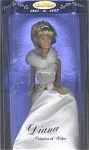 Click here to enlarge image and see more about item DIA0001A: Street Players Princess Diana Doll in White Formal 1997
