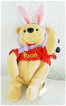 Click here to enlarge image and see more about item DMB0020A: 1998 Disneyland Easter Pooh Bean Bag Mousketoys
