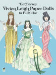 Click here to enlarge image and see more about item DOV0009: Vivien Leigh Paper Dolls in Full Color, Dover