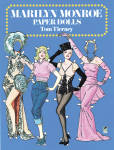 Click here to enlarge image and see more about item DOV0010: Marilyn Monroe Paper Dolls in Full Color, Dover