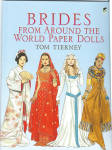 'Brides from Around the World Paper Dolls' by Tom Tierney, published by Dover Publishing and copyrighted in 2005 has 32 pages.  These paper dolls and costumes need to be cut out. There are 4 basic dolls represent Asia, South America, Africa, and Europe to model the 28 different costumes. Their gowns represent faithful reproductions of regional attire as well as modern interpretations of traditional styles, including Celtic robes of medieval Britain, a scarlet Indian sari, a Chinese silk tunic, a white satin dress from Ghana, a Balinese sarong, a Jewish bridal gown from Sheba, Japanese kimonos, a Hungarian lace dress, and 20 more gorgeous costumes. Notes on the inside front and back covers tell of cultural traditions.  New, mint condition. Expand listing to view both photos.