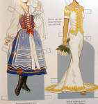 Click to view larger image of Brides from Around the World Paper Dolls, Tierney, Dover, 2005 (Image2)