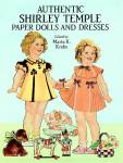 Authentic Shirley Temple Paper Dolls in Full Color booklet, edited by Marta K. Krebs is based on Shirley Temple outfits and accessories reissued by Dover Publications in 1991. This is a compilation of the paper dolls originally published by Saalfield Publishing Co. in 1937. It has 16 pages of 2 11 inch Shirley paper dolls, 16 color costumes, accessories, and black and white photographs of Shirley wearing the outfits. The paper dolls all have curly dark blonde hair and hazel eyes. All dolls and outfits need to be cut out. Standard shipping within the USA is USPS Priority with Shipsurance insurance. 1 or 2 booklets fit into flat rate Priority Mail envelopes. If slower shipping, lower priced media rate shipping is desired, please note that in the comments section of your order form, and the rate will be adjusted. Booklet is new.