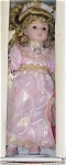 Click here to enlarge image and see more about item EFF0215B: Effanbee Pink Angel Bisque Doll 1995