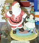 Click here to enlarge image and see more about item EFF0351B: Effanbee Santa Please Patsy Figurine 1996