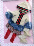 Click here to enlarge image and see more about item FBP0072: Effanbee Keeping Warm Patsy Doll Outfit Only Tonner 2014
