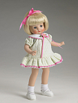Click here to enlarge image and see more about item FBT0129B: Effanbee Summer Picnic Patsyette Doll Outfit Only 2006