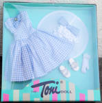 Click to view larger image of Effanbee Tea Time Fashion Toni Doll Outfit Only 2007 Tonner (Image2)