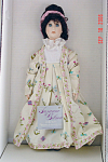 Click here to enlarge image and see more about item GIB0007: Susan Gibson Dolly Madison First Lady Doll 1986-88