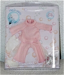 2005 Helen Kish Casual Pink Outfit for 7.5 inch Riley, Tullah, Avery, Zsu Zsa and similar size Kish little girl dolls. This doll outfit includes a long-sleeve pink knit sweater, pink knit slacks, white socks, and pink sneakers. Limited edition. The price in for the outfit only. This new outfit is near mint in its see-through package, though container's lid is missing. The outfit itself is otherwise perfect. Expand listing to view both photographs.