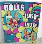 Soft cover reference book, by Cindy Sabulis, Collector's Guide to Dolls of the 1960s and 1970s, is 272 pages long, and has numerous color doll photos, brochure pictures, gray-scale catalog and brochure pictures, and values and information. This first edition book (1st) book is from 2000, and was printed by Collector Books, A Division of Schroeder Books. It is in new, and mint condition. The ISBN is either 13: 9781574321623 or 10: 1574321625. The values are from 2000, and this is the earlier or 1st edition of this guide.  Expand listing to view both photographs.