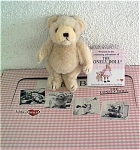 Click here to enlarge image and see more about item KAH0007: Kids-at-Heart Lonely Doll Bear Friend Mid 1990s