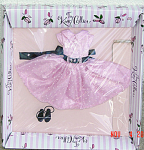 Click here to enlarge image and see more about item KCE0015: Effanbee Touch of Swiss Tiny Kitty Collier Doll Outfit Only 08