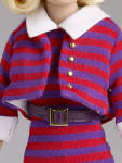 Click to view larger image of Tonner Stripes Suit Me Tiny Kitty Fashion Doll, 2014 (Image3)