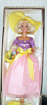 Click here to enlarge image and see more about item MAT0300B: Avon Spring Blossom Blonde Barbie Doll 1995