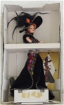 Click here to enlarge image and see more about item MAT0324: 1993 Mattel Bob Mackie Masquerade Ball Barbie Doll