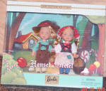 Click here to enlarge image and see more about item MAT0631: Mattel Kelly and Tommy Dolls as Hansel and Gretel 2000