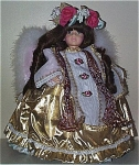 Click here to enlarge image and see more about item MPO0022: 1995 Pittsburgh Originals Saranade Angel Doll