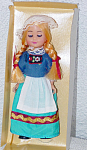 Click here to enlarge image and see more about item NAT0005: Holland Nationality Girl Doll Early 1980s