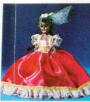 Click to view larger image of Vintage Jamaican 7.5 inch Nationality Doll (Image2)