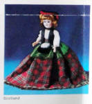 Click to view larger image of Vintage Scottish 7.5 inch Nationality Doll (Image2)