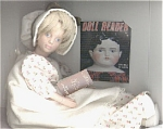 Click here to enlarge image and see more about item NIS0001: Peggy Nisbet 1st Doll Reader Doll 1984